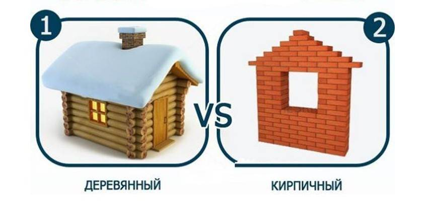 Сравнение домов, построенных по классической технологии и из современных материалов