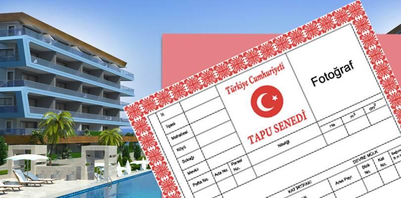 Право Собственности На Недвижимость В Турции: TAPU (ТАПУ)