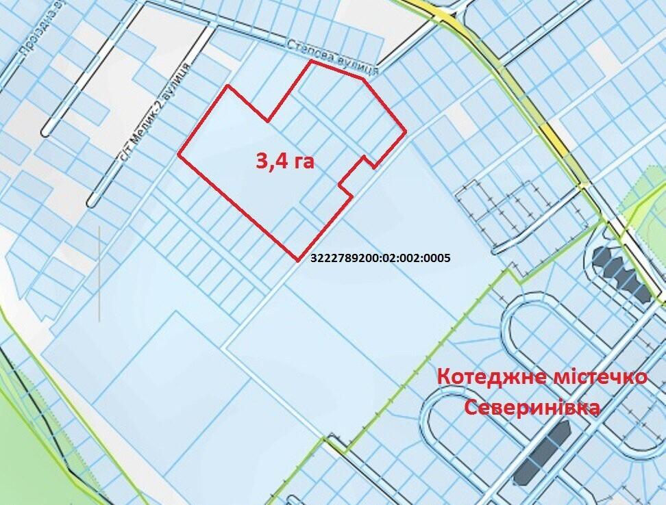 Продажа земельного участка, с. Севериновка Агентство Недвижимости Киев. Продать, купить недвижимость, квартиру, дом photo5368684265480500591 972x738
