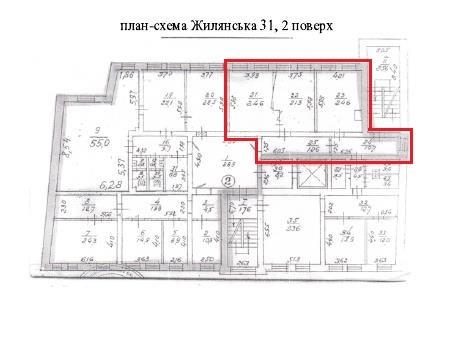 Аренда офиса в БЦ Capital Hall Агентство Недвижимости Киев. Продать, купить недвижимость, квартиру, дом  схема 2
